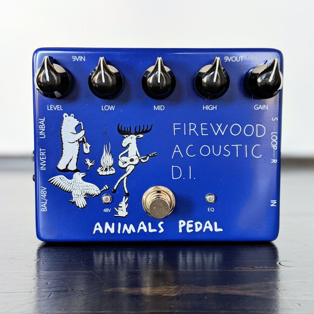 Animals Pedal Firewood Acoustic D.I. - NathansGear.Co