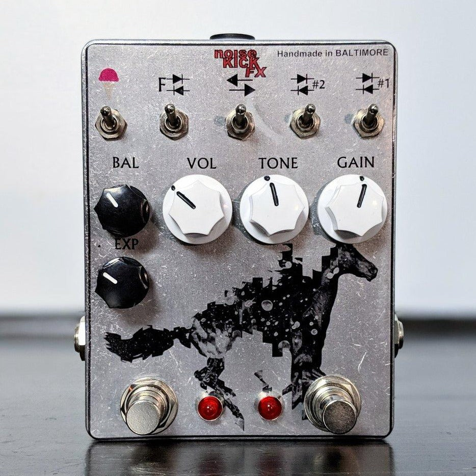 noiseKICK FX The Horsey Distortion+Fuzz - NathansGear.Co