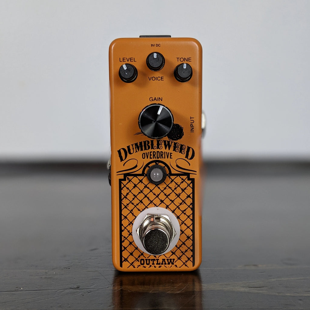 Outlaw Effects Dumbleweed Overdrive - NathansGear.Co