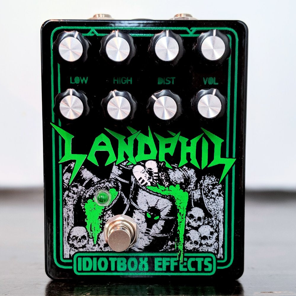 IdiotBox Effects Landphil Bass Distortion - NathansGear.Co