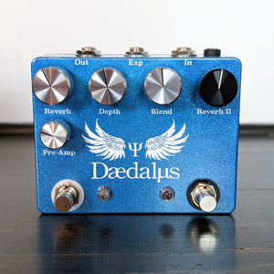 Coppersound Pedals Daedalus Dual Reverb w/ Expression Jack - NathansGear.Co