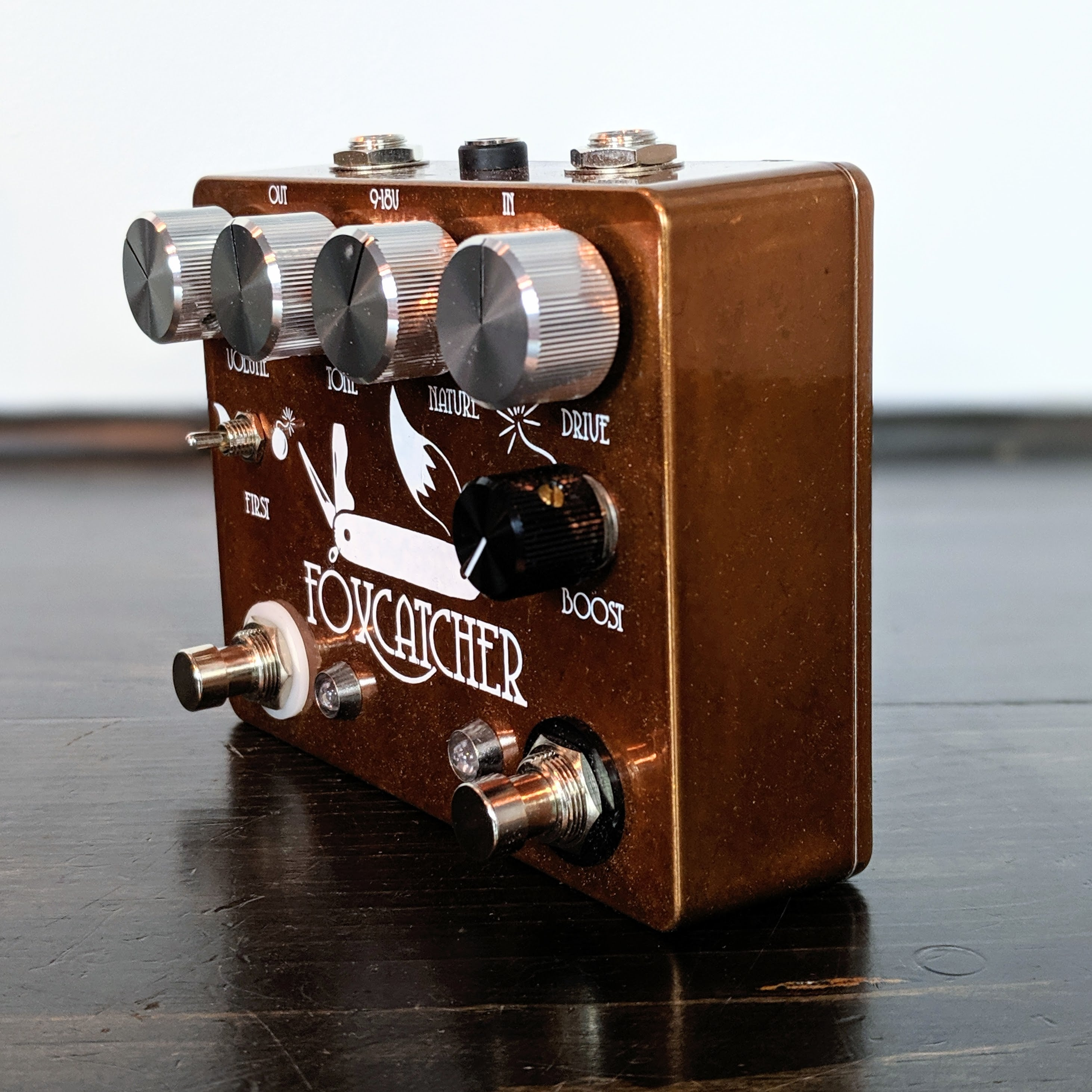 Coppersound Pedals Foxcatcher Overdrive & Boost - NathansGear.Co