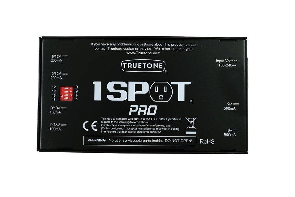Truetone 1 SPOT Pro CS6 Isolated Pedalboard Power Supply - NathansGear.Co