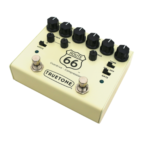 Truetone Route 66 V3 Overdrive and Compressor - NathansGear.Co