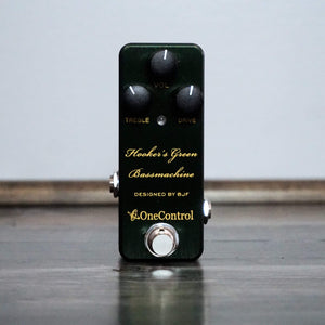 One Control Hooker's Green Bass Machine - NathansGear.Co