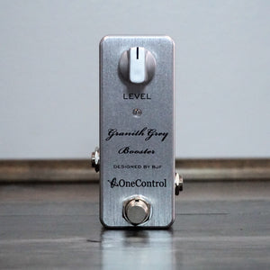 One Control Granith Grey Booster - NathansGear.Co