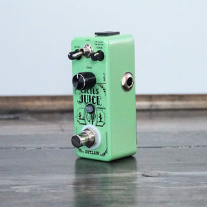 Outlaw Effects Cactus Juice 2 Mode Overdrive Pedal - NathansGear.Co