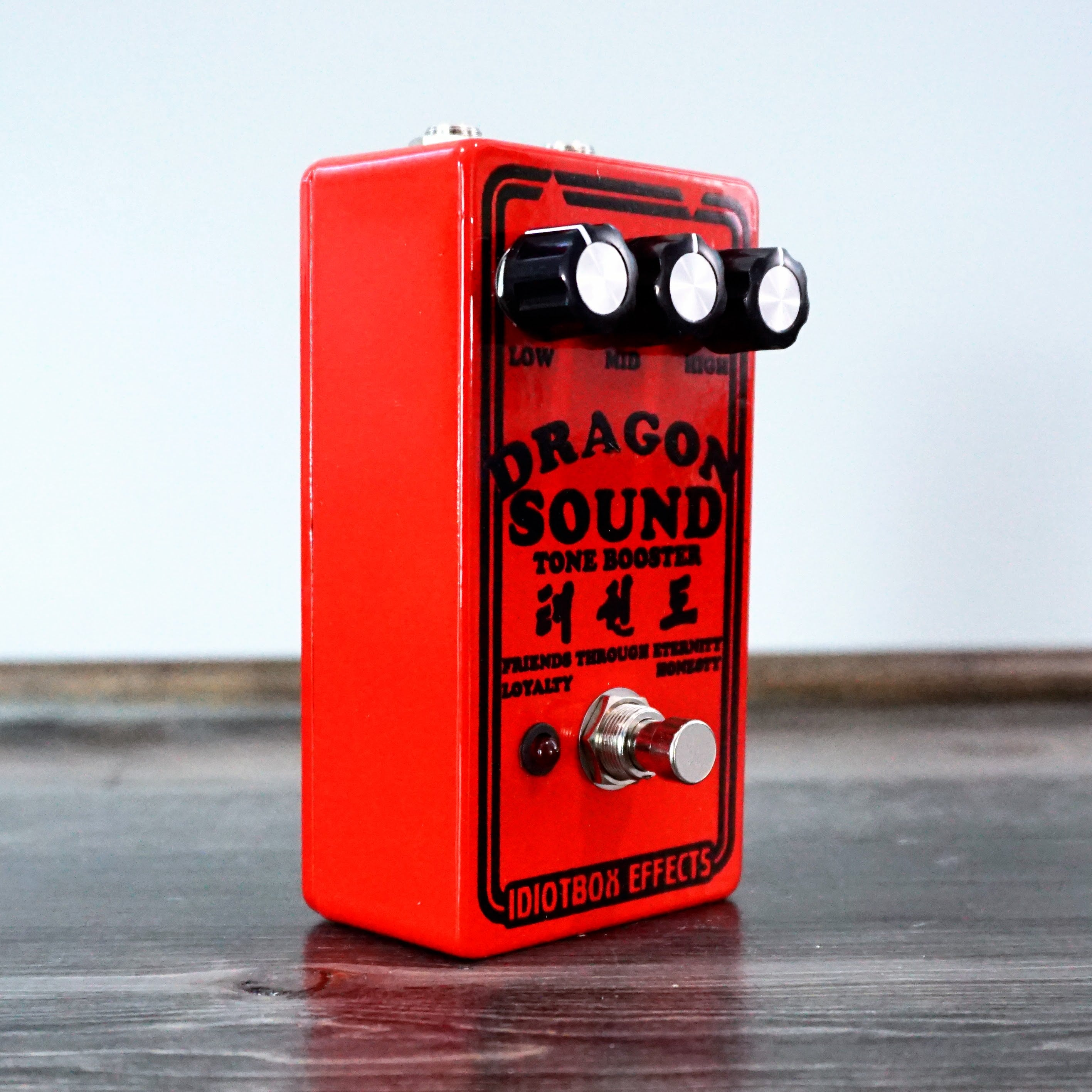 Idiotbox Effects Dragon Sound Tone Booster - NathansGear.Co