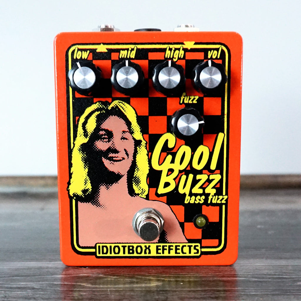 Idiotbox Effects Cool Buzz Bass Fuzz - NathansGear.Co