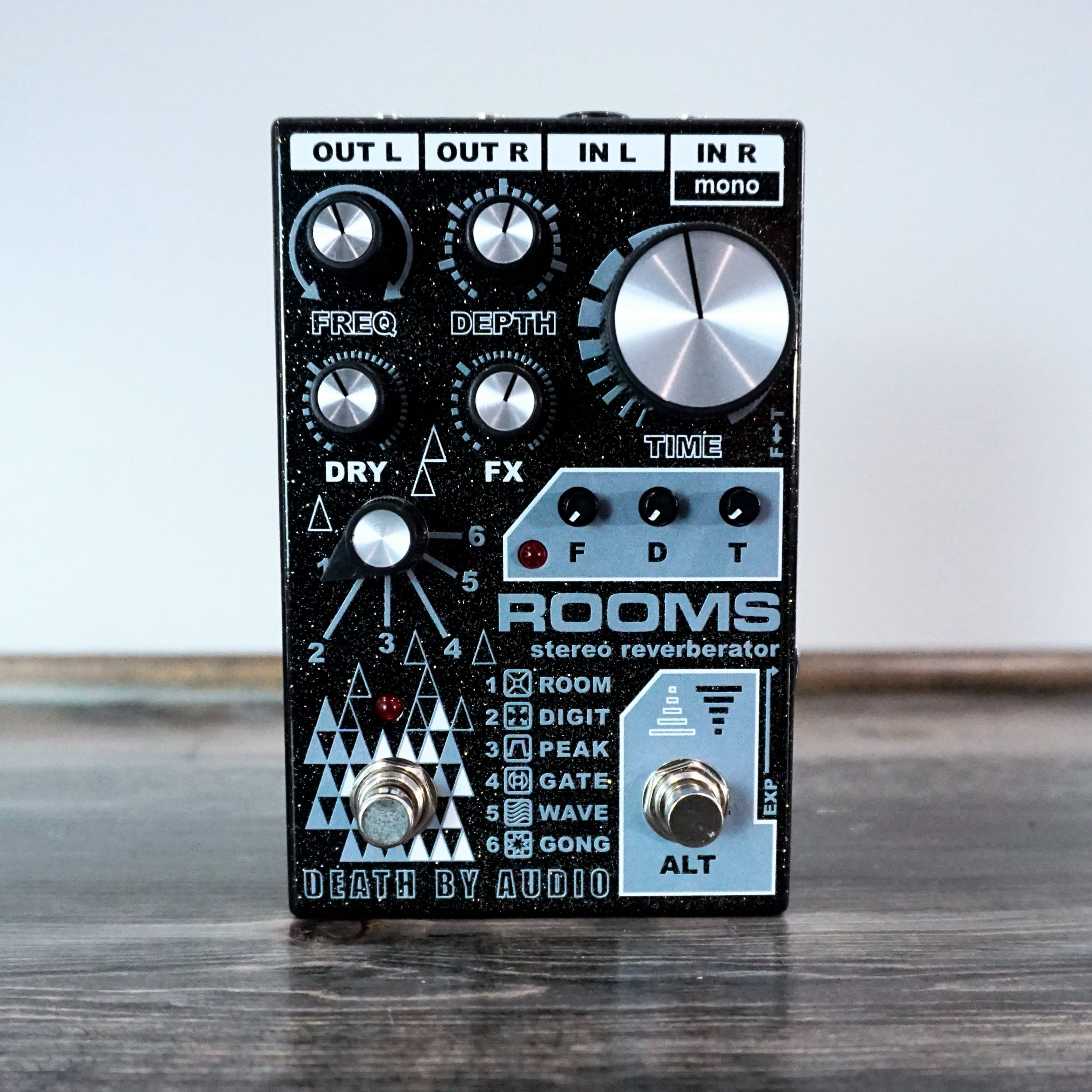 Death By Audio Rooms - NathansGear.Co