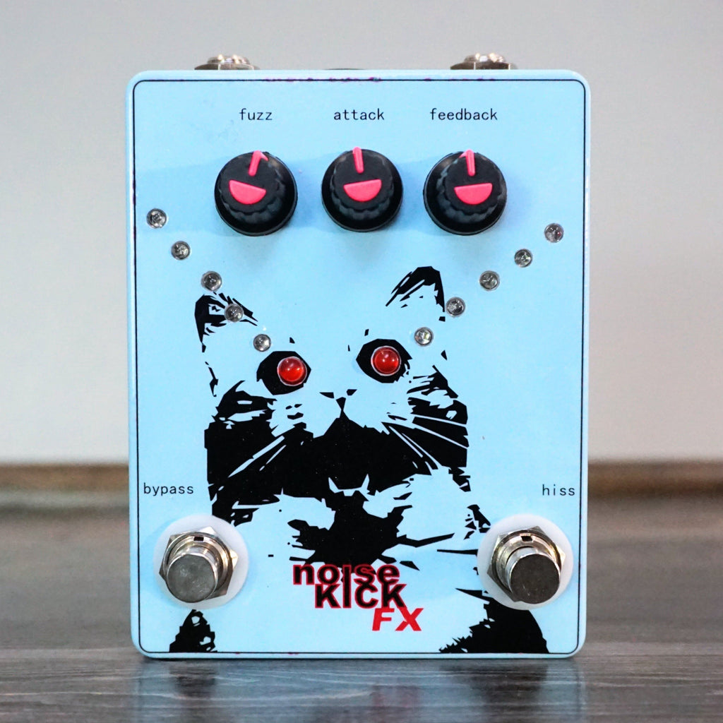 noiseKick FX Laser Cat Fuzz - Light Blue - NathansGear.Co