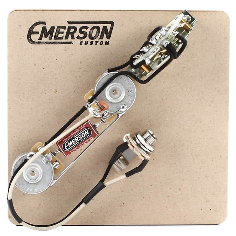 Emerson Custom Tele 4-Way Prewired Kit - NathansGear.Co