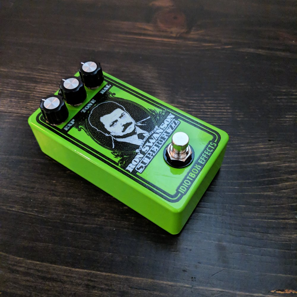 IdiotBox Effects Ron Swanson Super Fuzz - NathansGear.Co