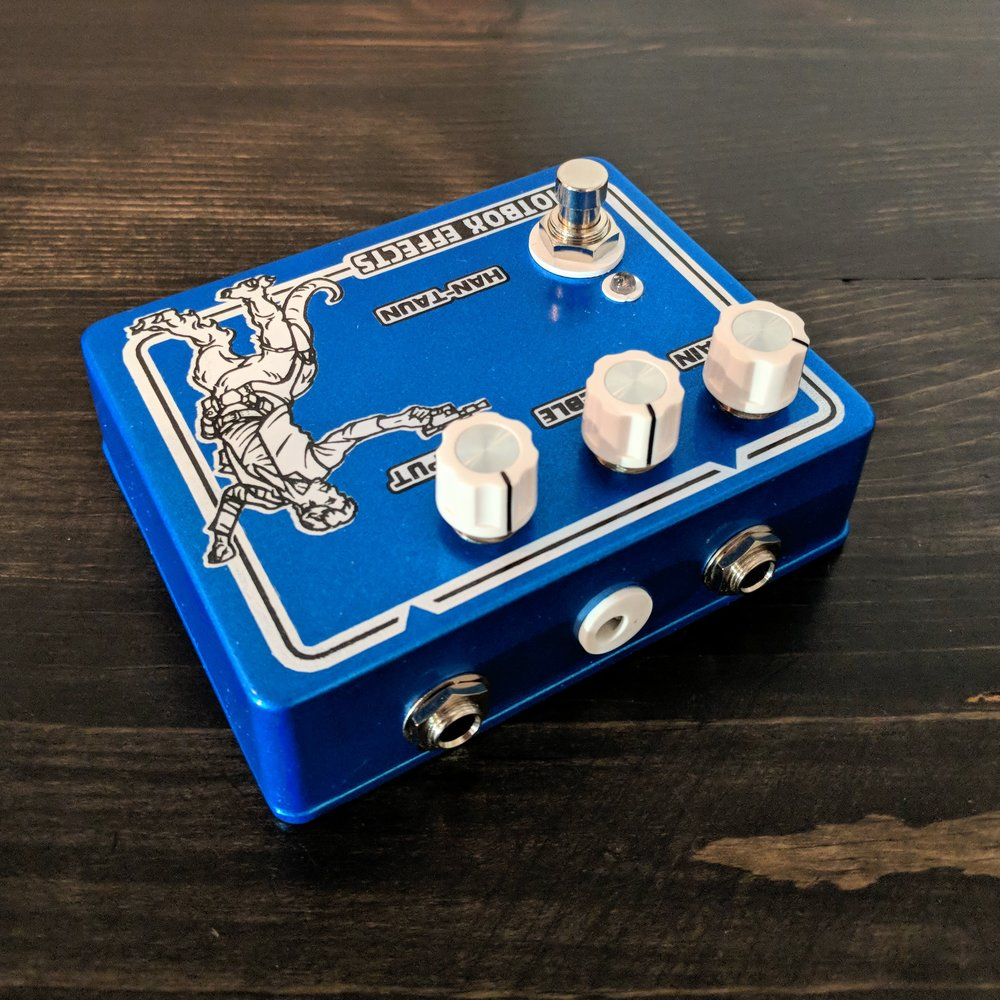 IdiotBox Effects Han-Taun Overdrive - NathansGear.Co