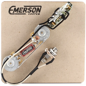 Emerson T3-250K Custom 3-Way Telecaster Prewired Kit w/ 250k Pots - NathansGear.Co