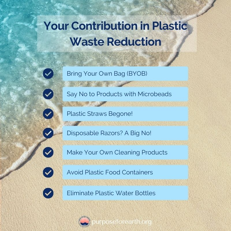 7 Ways to Reduce Plastic Waste – Get Over Plastic Pollution Problem