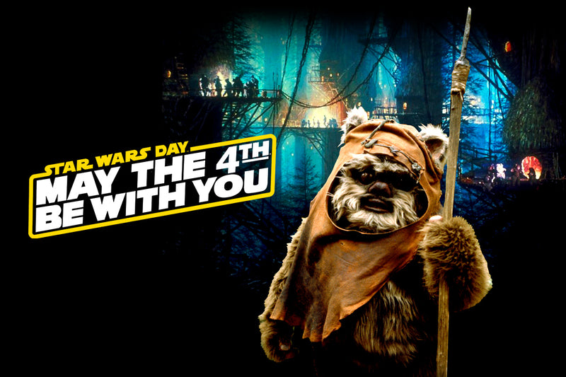 MAY THE FOURTH: DAY IN THE LIFE OF AN EWOK