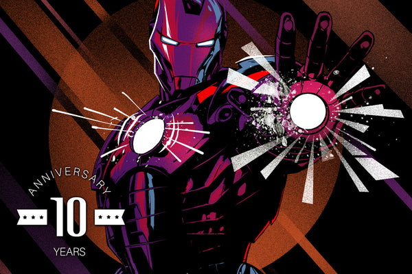 CAKE, ICE-CREAM, AND ANNIVERSARIES:  10 YEARS OF IRON MAN