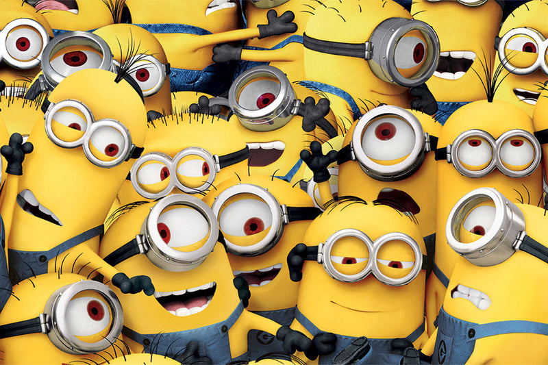 WHY ARE PEOPLE SO OBSESSED WITH MINIONS?