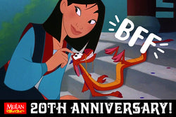 YOU'VE GOT A FRIEND IN MUSHU: MULAN'S BFF ON BEST FRIEND DAY