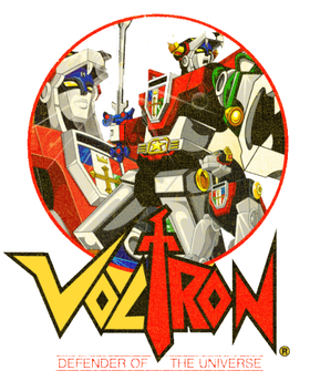 Voltron Defender Of The Universe Clothing