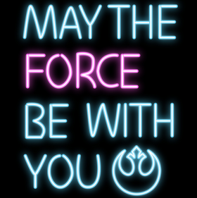 May The Force Be With You Clothing