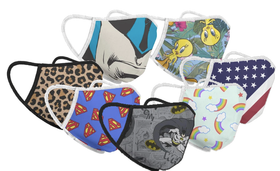 Graphic Fabric Mask Clothing