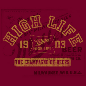 Miller High Life Clothing