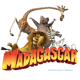 Dreamworks Madagascar Graphic Clothing