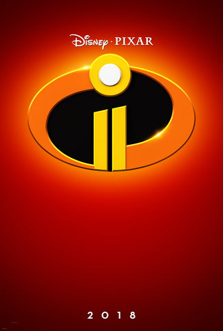 The Incredibles 2018 movie poster