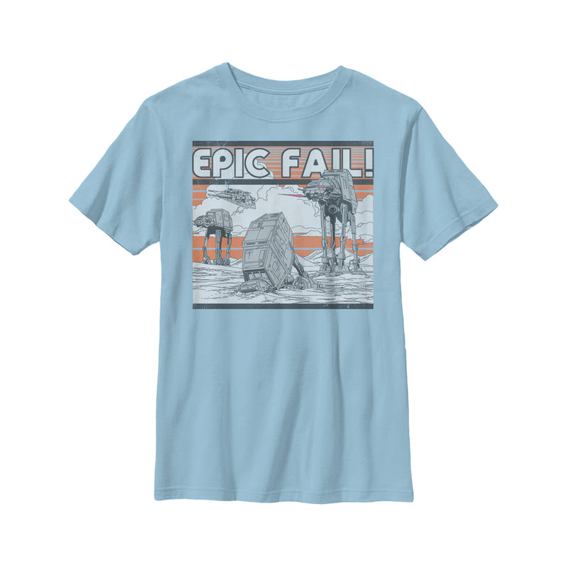 Star Wars AT-AT Epic Fail Boys Graphic T Shirt