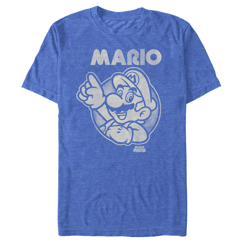Nintendo Mario Mens Graphic T Shirt