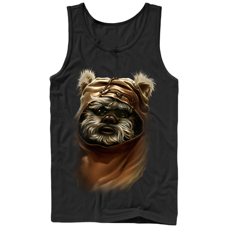 Star Wars Wicket Ewok Mens Graphic Tank Top