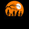 Star Wars Men's Halloween Characters Trick or Treat  T-Shirt  Black