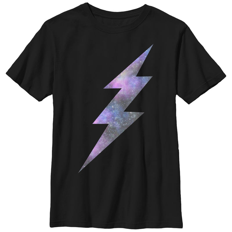 Lost Gods Space Lightning Bolt Boys Graphic T Shirt