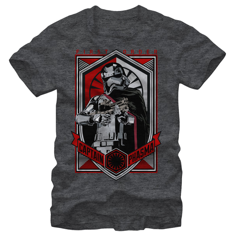 Star Wars First Order Captain Phasma Mens Graphic T Shirt