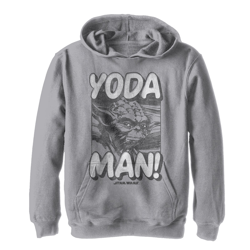 Star Wars Classic Yoda Man Boys Graphic Lightweight Hoodie