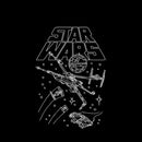 Star Wars Boy's Star Ship Meeting  Pull Over Hoodie  Black