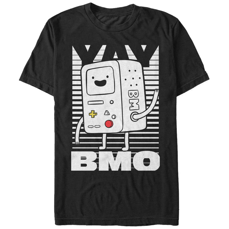 Adventure Time Yay BMO Mens Graphic T Shirt