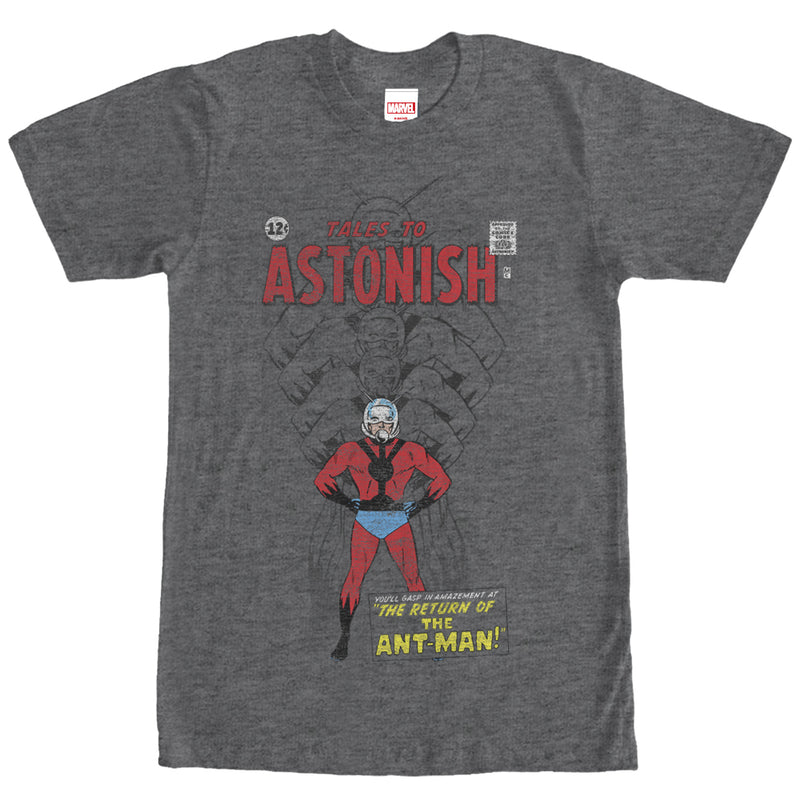 Marvel Ant-Man Shrinking Tales to Astonish Mens Graphic T Shirt