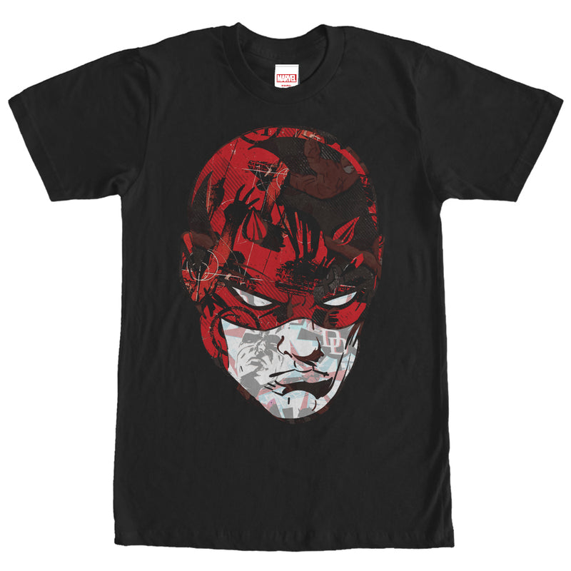 Marvel Men's Daredevil Portrait  T-Shirt  Black  M