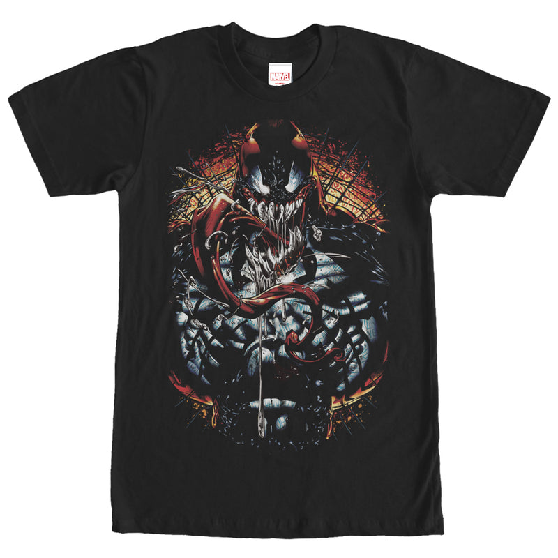Marvel Carnage Fear Mens Graphic T Shirt