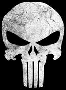 Marvel Men's Punisher Retro Skull Symbol  T-Shirt