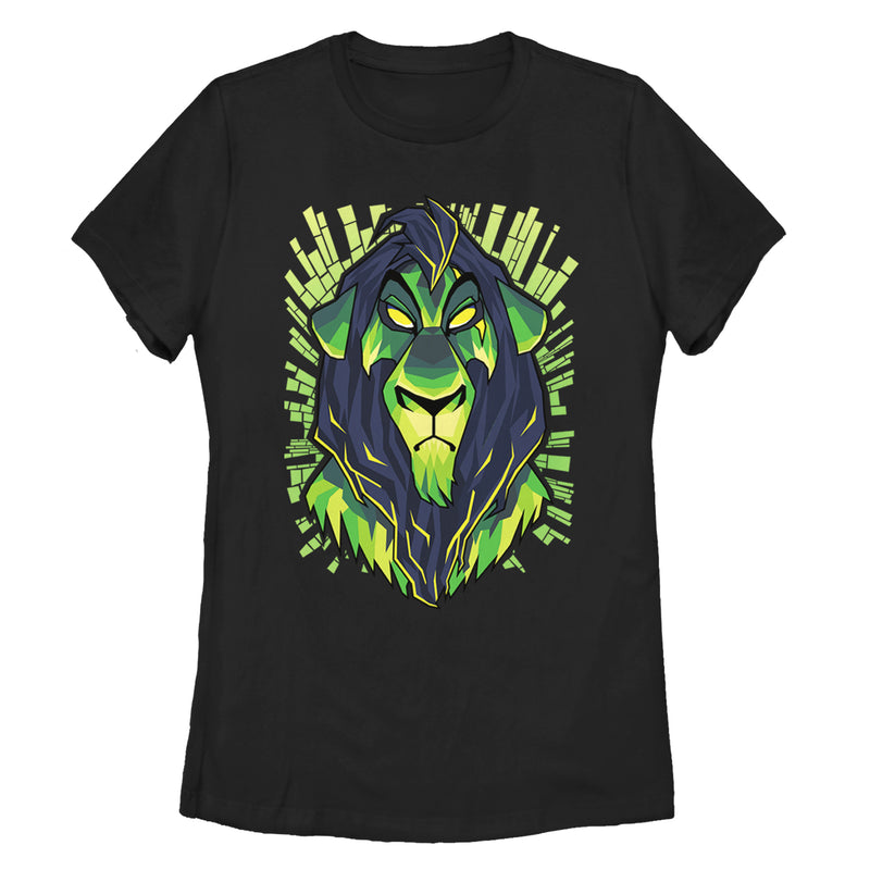 Lion King Evil Scar Womens Graphic T Shirt