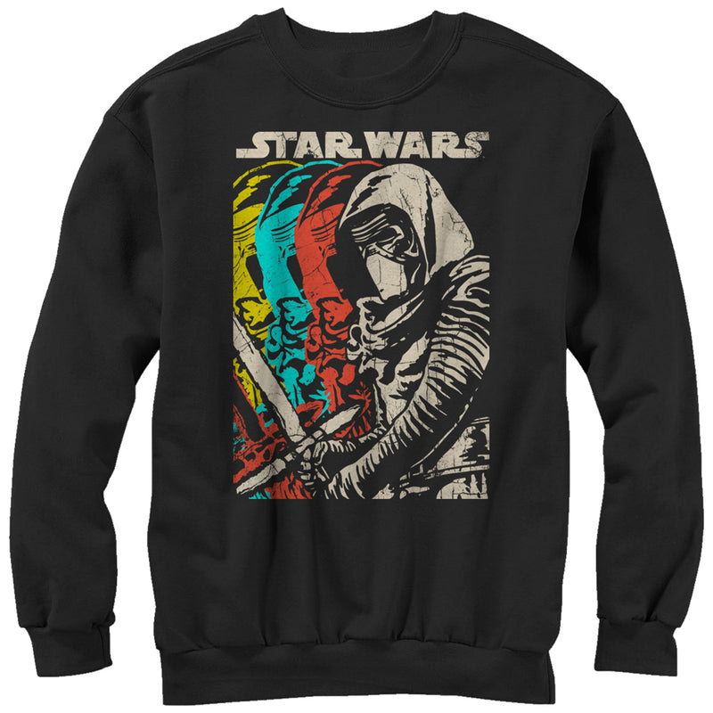 Star Wars Episode VII Kylo Ren Copies Mens Graphic Sweatshirt