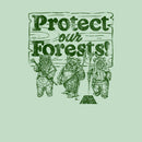 Star Wars Girl's Ewok Protect Our Forests  T-Shirt