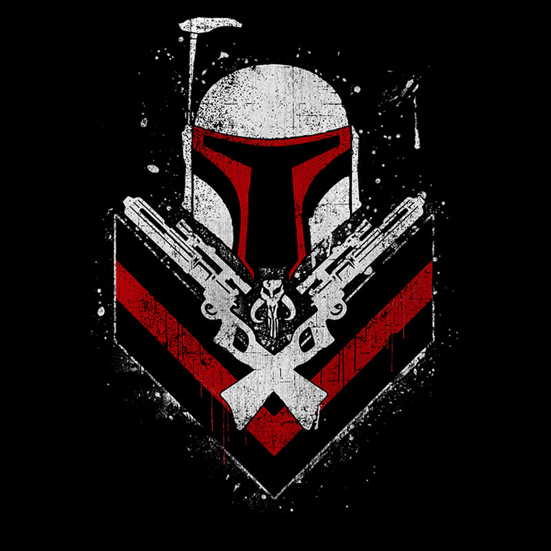 Star Wars Men's Boba Fett No Threats Only Promises  T-Shirt