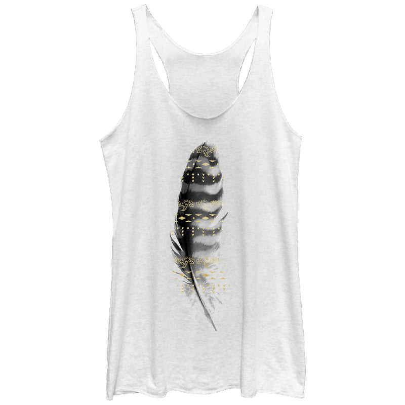 Lost Gods Feather in Flight Womens Graphic Racerback Tank