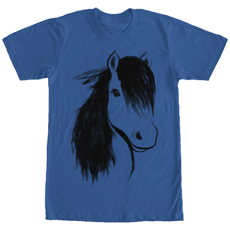 Lost Gods Horse Mane Mens Graphic T Shirt