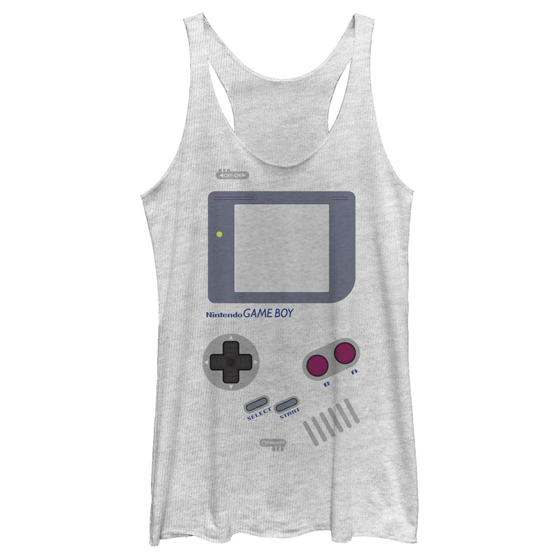 Nintendo Game Boy Womens Graphic Racerback Tank